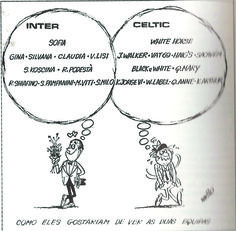 Cartoon in a Lisbon newspaper, May 1967.