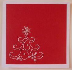 defi50 carte brodèe albero con perle ricamato da giuseppina ceraso crocettando http://crocettando.wordpress.com