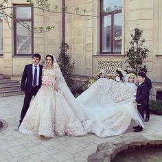 Royal ball gown wedding dress by HMWorksHauteCouture on Etsy