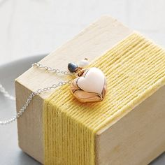 rose gold heart locket necklace by otis jaxon silver and gold jewellery | notonthehighstreet.com