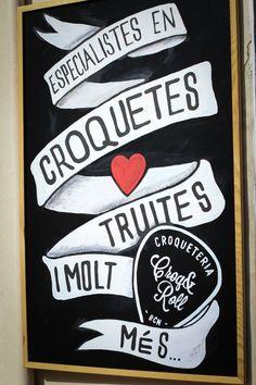Croq & Roll, la croquetería imperdible del barrio de Gracia (Barcelona) - El Sabor de lo Bueno