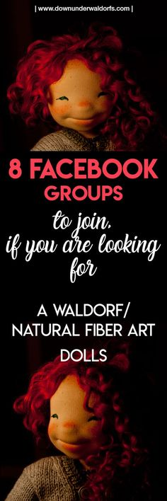 8 Facebook groups to join in if you are looking for Waldorf/Natural Fiber Art dolls