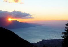 Eastern Lac Leman (Lake Geneva) - Switzerland