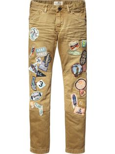 Badge Worker Pants |Pants|Boys Clothing at Scotch & Soda