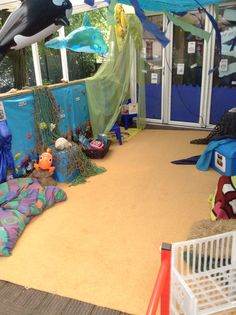 Under The Sea Outdoor Role Play Area