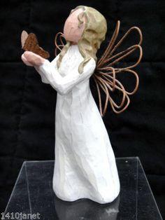 Willow Tree Angel of Freedom Figurine by Susan Lordi 2000 Demdaco