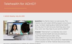 Telehealth services are being covered by most insurances during the stay-at-home orders. Mental Health Treatment, Mental Health Care, Mental Health Services, Rural Health, Home Health, University Programs, Adhd Symptoms, Primary Care