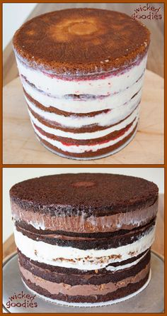 Wicked Goodies | Tall Layer Cake Making | https://www.wickedgoodies.net