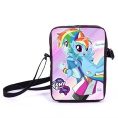 Young women Mini Messenger Bag Anime My Little Pony Crossbody Bag Girls School Bags Kids Book Bags Children Schoolbags Best Gift