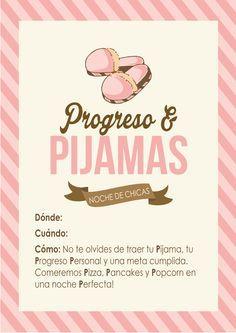 Noche P: Progreso Personal Pijama Party!   Conexión SUD