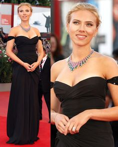 scarlett johansson  red carpet