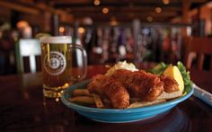 Fish and Chips at - Hoppers Grill and Brewing: SLC, Utah