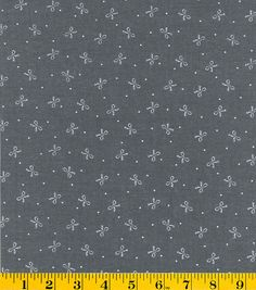 Gertie Collection Fabrics- Chambray Bows Cotton Fabric