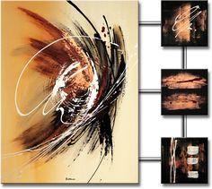 Abstracte schilderijen � Schilderij Spectacular Abstraction IV