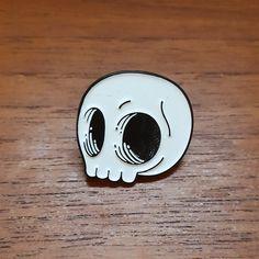 Image of Skully Head Enamel Pin
