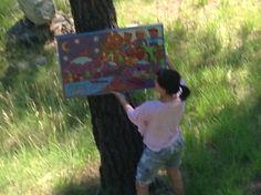 outdoor art space in Montana. Calgary artists.