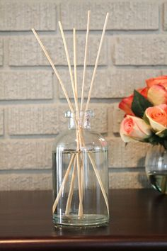 DIY Reed Diffuser | A Sip of Bliss