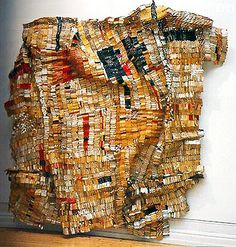 El Anatsui, Old Man's Cloth (practice) Fashion Installation, Installation Art, Textiles, Ap Art History 250, African Artists, Global Art, Recycled Art, Textile Artists, Fabric Art