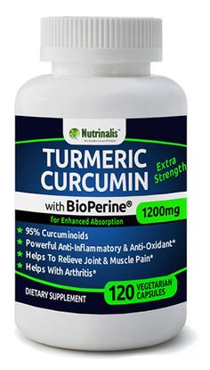 Turmeric Curcumin With BioPerine® (Black Pepper) For High Absorption - Curcuminoids, Extra Strength Supplement, Powerful Anti-Inflammatory and Anti-Oxidant >>> See this great image : Herbal Supplements Turmeric Extract, Turmeric Curcumin, What Is Turmeric, Nutritional Supplements, Health And Beauty, Herbalism, Strength, Stuffed Peppers