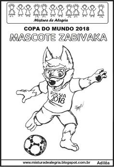 World Cup 2018, Fifa World Cup, Summer School, Primary School, Art School, Paper Dolls, Art Lessons, Activities For Kids, Coloring Pages