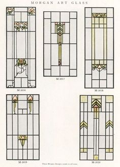 paint on glass windows craftsman style - Mozilla Yahoo Image Search Results Stained Glass Door, Stained Glass Designs, Stained Glass Panels, Stained Glass Projects, Stained Glass Patterns, Painting On Glass Windows, Leaded Glass Windows, Window Glass, Art Nouveau