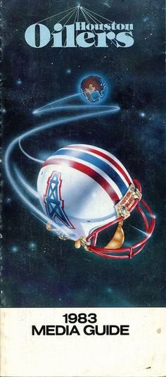 houston oilers national #Football leauge 1983 media guide from $18.95