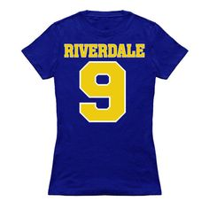 Riverdale shirt/ Riverdale football/ tv show by Velvetmusketeer