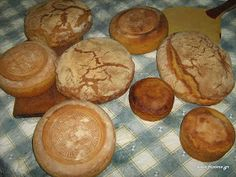 Φτιάχνω ψωμί με προζύμι Bon Appetit, Muffin, Sugar, Stuffed Peppers, Breakfast, Salt, Challenge, Food, Morning Coffee