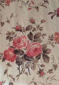 French Country Fabric, French Fabric, French Country Cottage, Country Rose, Vintage Country, French Style, Cottage Style, Floral Upholstery Fabric, Fabric Ottoman