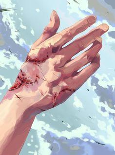 Eren's hand