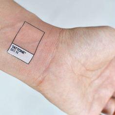 My next tatoo Pantone Temporary Tattoos, Small Tattoos, Cool Tattoos, Tatoos, Art Tattoos, Funny Tattoos, Lotusblume Tattoo, Real Tattoo, Tiny Tattoo