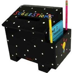 Kid's Wood Tatutina Adorably Designed Suggestion Box