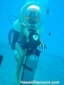 One of my favorite #Oahu Activities! BOB Underwater Scooter!