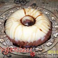 Ελαφρύς σιμιγδαλένιος σοκολατένιος χαλβάς Pudding, Desserts, Food, Tailgate Desserts, Deserts, Custard Pudding, Essen, Puddings, Postres