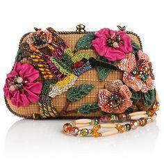 Mary Frances Beaded Sweet Nectar Bag Hummingbird Ret $299 90 | eBay