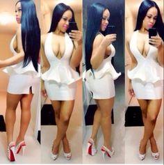 b2aa26d0d61 Hot Women Summer 2014 New Sexy bandage dress cute club dress mini bodycon  bandage nightclub dress