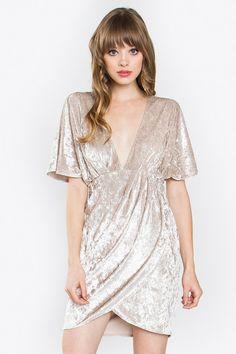 Kai Velvet Dress