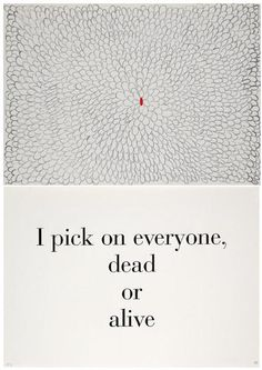 Louise Bourgeois, What is the Shape of This Problem, title page.