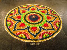 Rangoli designs 2020 for Gudi Padwa are about incorporating flowers in them. Flower wedding rangolis have gained much popularity this wedding season.