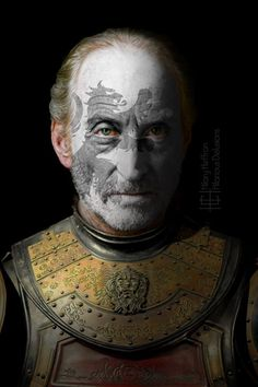Tywin Lannister  | Game of Thrones War Paint by Hilary Heffron - Hilarious Delusions