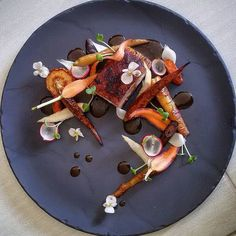 "Check out this beautiful dish by @cookgel83 ""Porkbelly rainbow carrots raw & baked slowcooked parsnip shiitake infused jus begonia flowers"" #ChefsPlatingfor your chance to be featured. #chef #chefsofinstagram #cheflife #cook #cooking #eeeeeats #finedining #food #foodart #foodphotographer #foodie #foodstagram #foodspotting #foodstyling #gastroart #gastronomy #huffposttaste #instachef #kitchen #food52 #buzzfeedfood #theartofplating #foodblogger #foodaddict #beautifulcuisines by myfrenchchef"