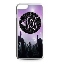 5SOS Logo in Concert iPhone 6 Plus Case