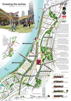Vauxhall Missing Link Shortlist announced World Landscape Architecture