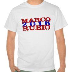 Marco Rubio 2016 T Shirt, Hoodie Sweatshirt