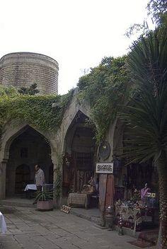 Caravanserai, Walled City of Baku, Azerbaijan Azerbaijan Travel, Baku Azerbaijan, Brunei, Sri Lanka, Nepal, Places To Travel, Places To See, Laos, Georgie