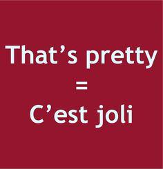 Pronunication: http://soundcloud.com/edi/thats-pretty-cest-joli