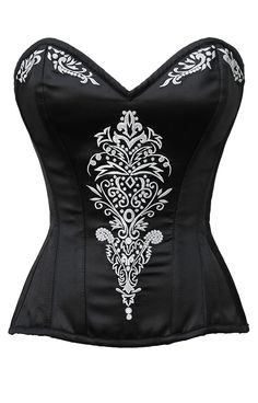 Corset :CD-993: Custom Made Embroidered Corset