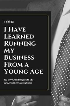 Starting a business from a young age can be tough. heres some of the things i learned running a business from a young age.