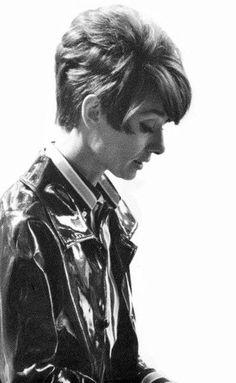 Audrey, durante a produção de Two For The Road, 1966