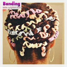 Curly Hue | Natural Hair Journal: I'm with the Band: Stretching My Natural Hair